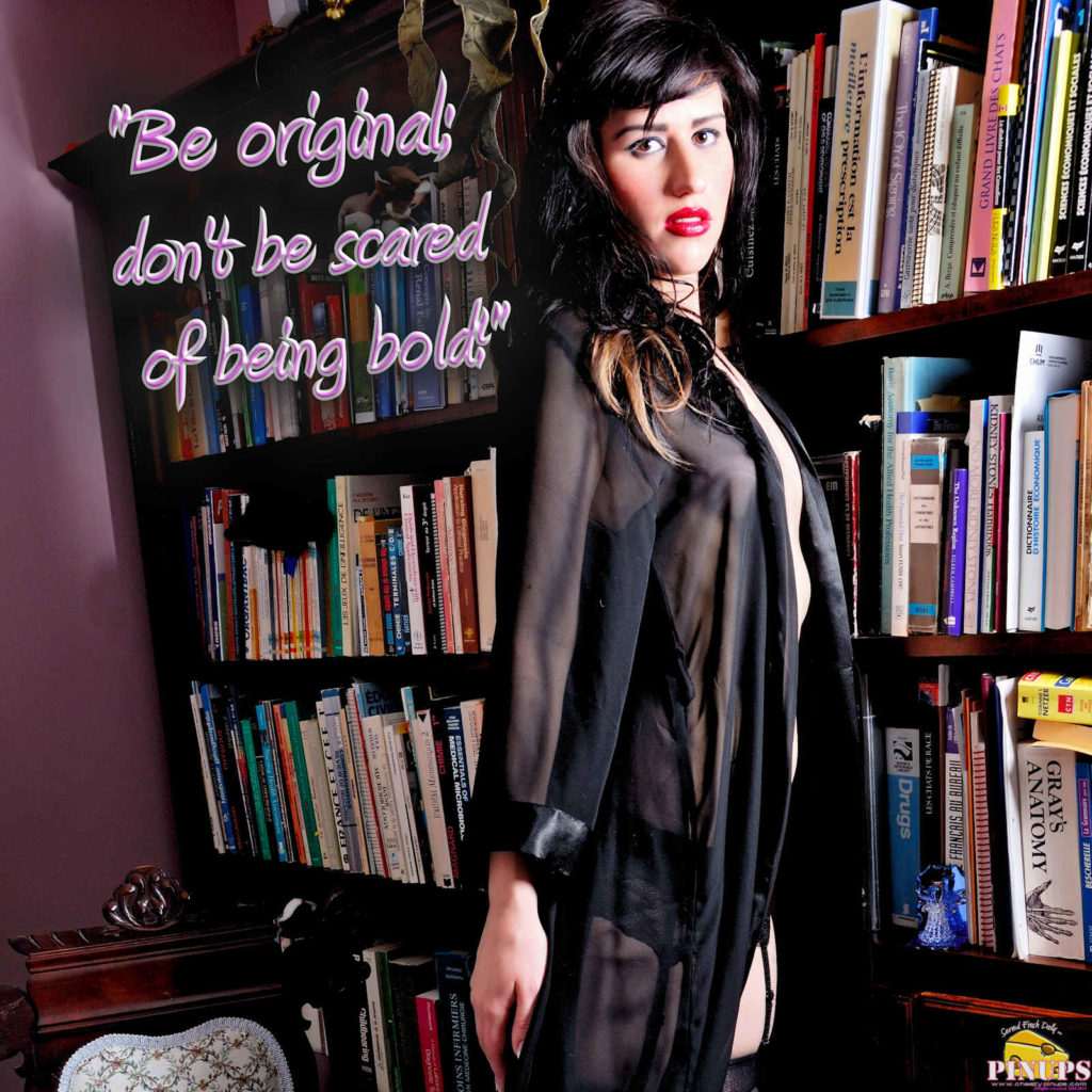 """""""Be original; don't be scared of being bold!"""" - Ed Sheeran Model: Maria"""