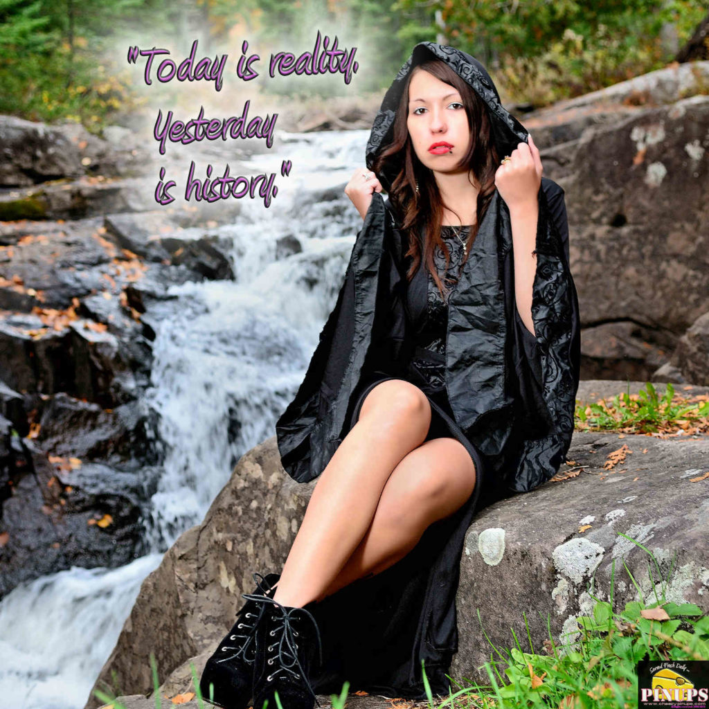 """""""Today is reality. Yesterday is history."""" - Prince Andrew Model: Samiie"""