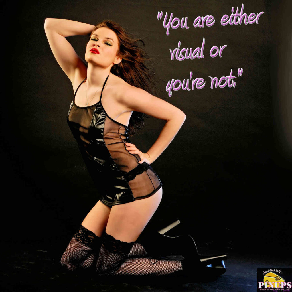 """""""You are either visual or you're not."""" - Joel Grey Model: V.Scarlett"""